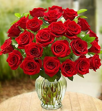 24 Red Roses with Rakhi