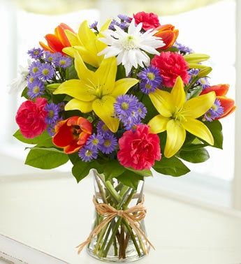 Fields of Europe Rainbow Bouquet