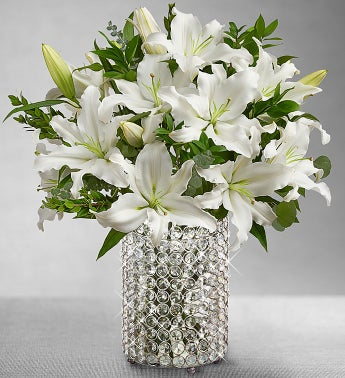 White Lily for Sympathy