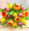 Radiant Tulips for Mom Bouquet $22.49
