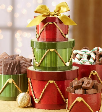 Regal Drum Gift Tower & Harry London� Chocolate