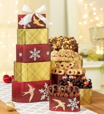 Peace, Love and Wonder Sweets Gift Tower