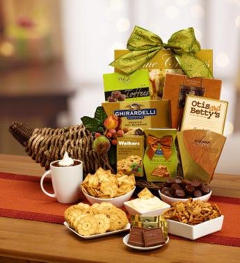 Grand Cornucopia Gourmet Gift Basket
