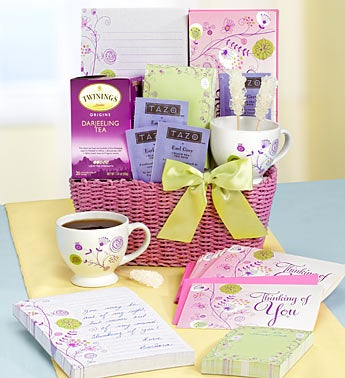 Quiet Expressions Stationary & Tea Gift Basket