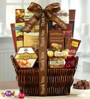 Thank You Deluxe Balsam Basket