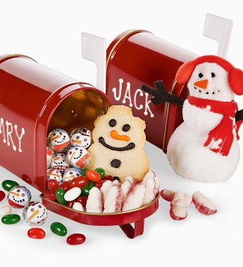The Popcorn Factory� Christmas Mailbox