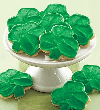 Cheryl's Frosted St Patricks Day Cookies-36ct