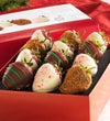 Fannie May Holiday Chocolate Strawberries