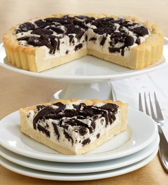 Irresistible Oreo� Black & White Cookie Pie