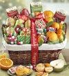 Holiday Gathering Fruit & Sweets Basket