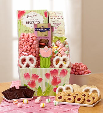 Spring Has Sprung Tulip Sweets Box