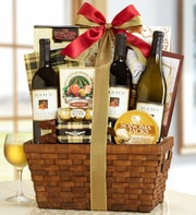 Vineyards of Hahn Estates� Wine Gift Basket