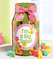 I'm a Big Sister! Teddy Gummies Jar