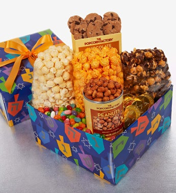 The Popcorn Factory� Spin the Dreidel Sampler Box