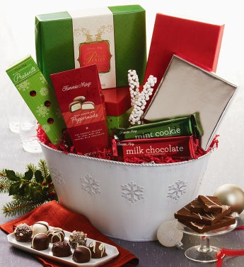 Fannie May� Festive Gathering Gift Basket