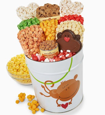 The Popcorn Factory� Monkey Love Dlx Snack Asst