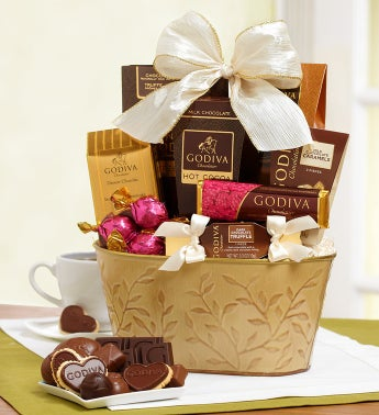 Spring Delight Godiva� Chocolate Basket