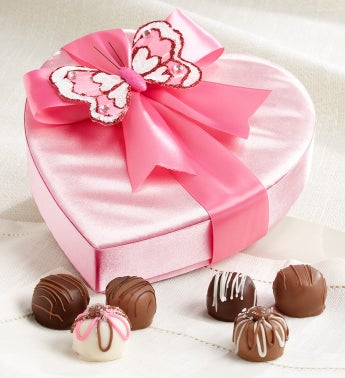 Sweet Shop USA Butterfly Heart with Truffles
