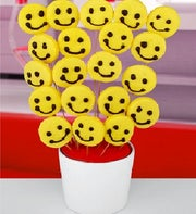 Smiley Faces Cookie Bouquet�