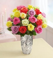 Assorted Roses, 24 Stems