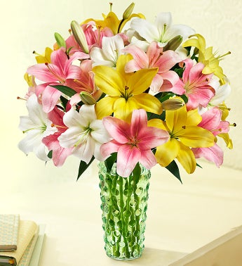 Sweet Spring Lilies, 25-50 Blooms