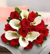 Deals on Red Rose & Calla Lily Bouquet