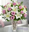 Marquis by Waterford� Purple Rose & Lily Bouquet