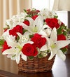 Elegant Basket with Rakhi