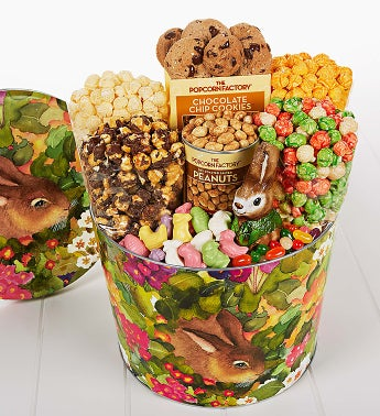 The Popcorn Factory� Garden Bunny Snack Asst