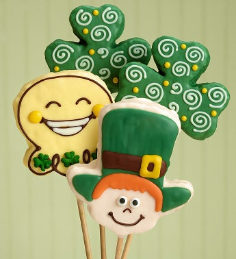 The Popcorn Factory� St. Patricks Day Crispy Pops