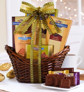 Best of Ghirardelli� Gift Basket