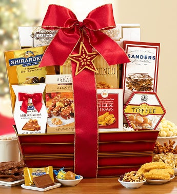 Festive Holiday Delights Gift Basket