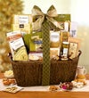 Stately Holiday Gourmet Gift Basket