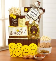 Sending Get Well Smiles Gift Basket