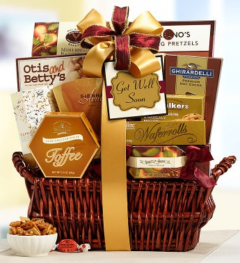 Get Well Soon Deluxe Balsam Gift Basket