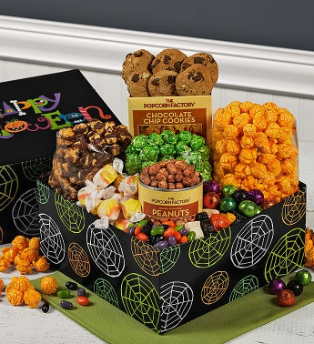 The Popcorn Factory� Happy Halloween Sampler Box