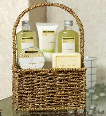 Lemon & Eucalyptus Botanicals Spa Basket