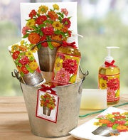 Zinnias Kitchen Spa Gift Bucket