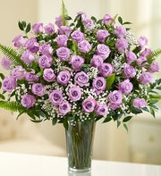 Ultimate Elegance?  Long Stem Purple Roses