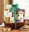 Tasteful Birthday Expressions Gift Basket