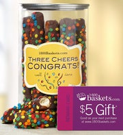 Three Cheers Congrats! Pretzel Present