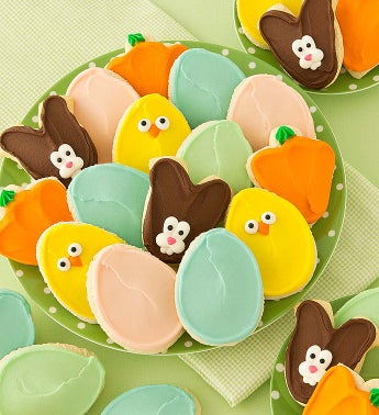 Cheryl's Easter Frosted Cookies