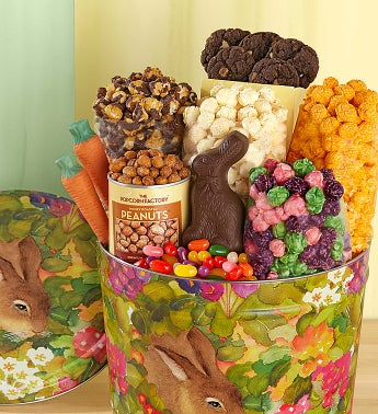 Popcorn Garden Bunny Snack Assortment