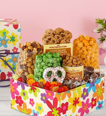 Popcorn Summer Floral Sampler Box