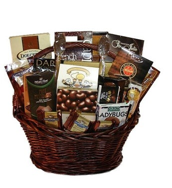 Chocolate Basket
