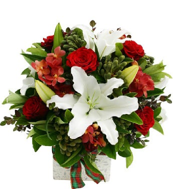 Red And White Arrangements