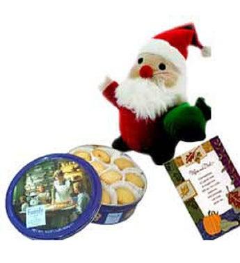 Santa N Cookies