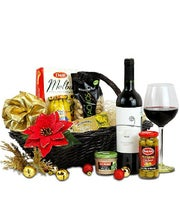 Basket of Red Wine Treats