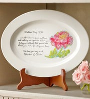 Personalized Mom Decorative Platter