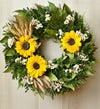 Preserved Sunflower Wreath ? 16